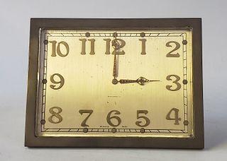 Bigelow Kennard & Co 8-Day Swiss Desk Clock