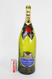 "Moet ""American Independence Bicentennial"" Champagne Bottle"