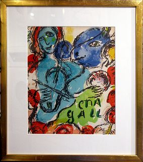 Marc Chagall Pantomime 1972