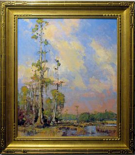 """Gene Costanza, """"Over the Old Rice Plantation"""""""