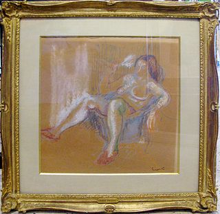 "Othon Friesz ""Seated Nude"""