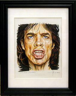"""Adam Howard, """"Mick Jagger"""""""