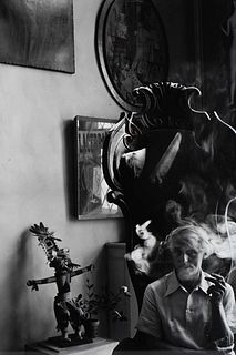 Arnold Newman (American, 1918-2006) Max Ernst, NYC, 1942