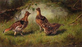 Arthur Fitzwilliam Tait (1819-1905) Ruffed Grouse