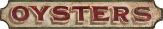 Early Oyster Sign