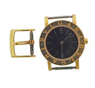 Bvlgari Bulgari 18k Gold Watch BB26GL