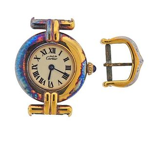 Must de Cartier Vermeil Quartz Watch