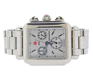 Michele Deco Mother of Pearl Chronograph Watch DC24741
