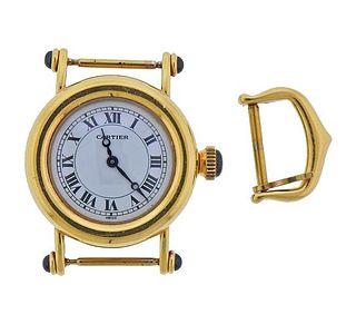 Cartier Diablo 18k Gold Quartz Watch 1440