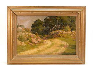 Herbert Cyrus Farnum O/C Rhode Island Painting