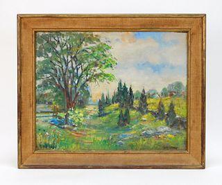 Hielene Furlong Impressionist Landscape Painting