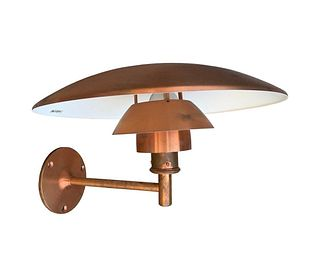 PH Copper Sconce by Poul Henningsen for Louis Poulsen