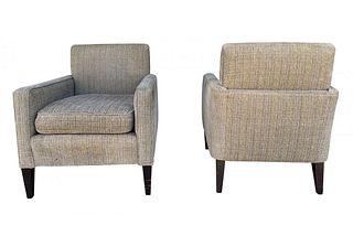 Set of 2 Vintage Armchairs, ca 1960s