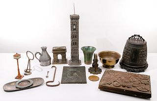 Bronze and Metal Object Assortment