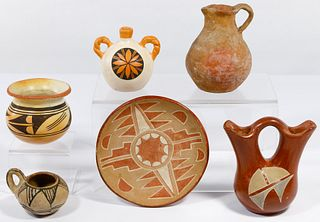 Native American Southwest Pottery Assortment