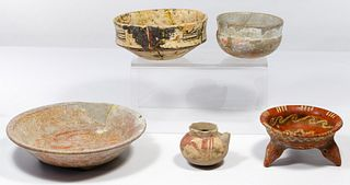 Pre-Columbian Pottery Assortment
