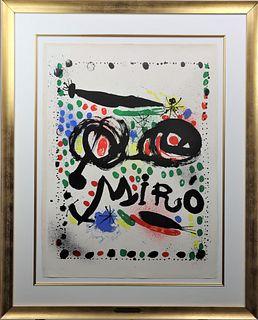 Joan Miro (1893-1983) Spanish, Lithograph
