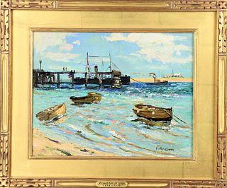 Hayley Lever (1876-1958) American, O/C