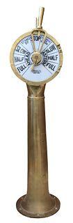 Brelco American Brass Engine Order Telegraph