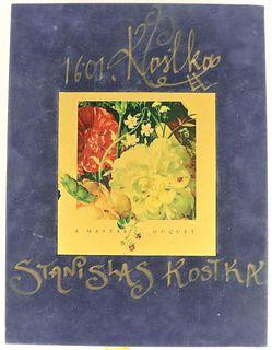 Stanislas Kostka (b.1954) Polish, L/E Book
