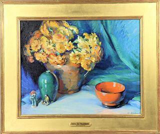 Mabel May Woodward (1877-1945) American, O/C