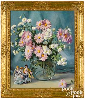Isabel Cartwright oil on canvas still life