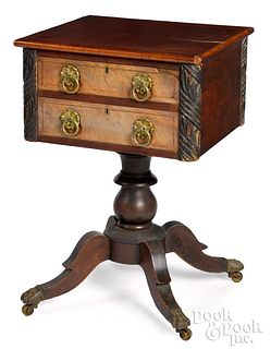 Baltimore, Maryland Empire mahogany work stand
