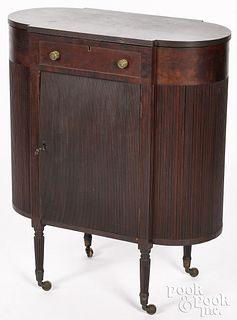 Philadelphia Sheraton mahogany sewing stand