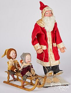 German composition Father Christmas Santa Claus