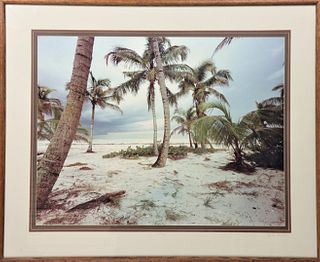 "Clyde Butcher (B. 1942) ""Sanibel"", Photograph"