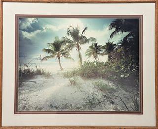 """Clyde Butcher (b 1942) """"Estero Island"""", Photograph"""