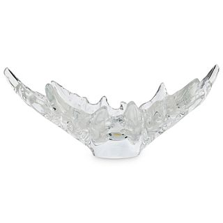 """Lalique Crystal """"Champs-Elysees"""" Bowl"""