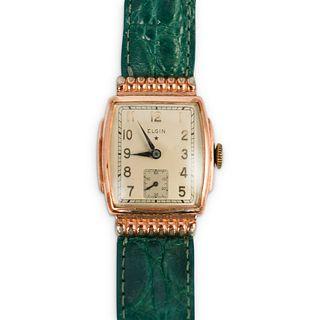 Vintage 10k Gold Filled Elgin Watch