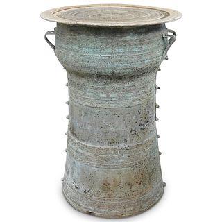 Antique Asian Rain Drum