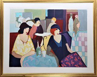 Itzchak Tarkay (1935-2012) Hungarian, Color Litho