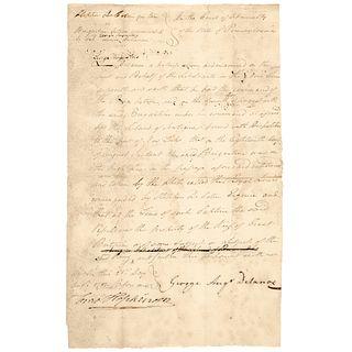 Declaration Signer FRANCIS HOPKINSON Signed Case, Stephen Decatur v Brig Active