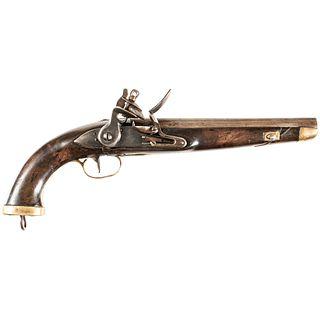 1790-1830 Inexpensive Belgian Military Flintlock Pistol