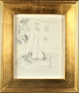 Raoul Dufy (1877-1953) French, Etching