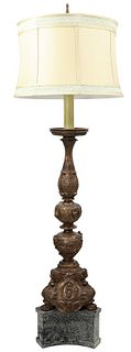 Revival Style Continental Floor Lamp