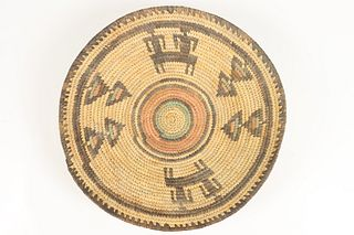 Early Hand Woven Basket