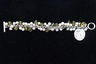 Bracelet w. Tiffany & Co. Sterling Charm