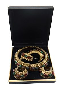 Vintage Hattie Carnegie Jewelry Set