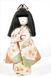 Mid Century Japanese Doll