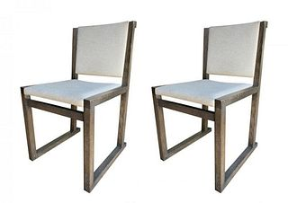 "Set of  2 ""Musa"" Chairs by Antonio Citterio for Maxalto"