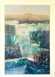 Original watercolor by Keith Finch 1919-1993
