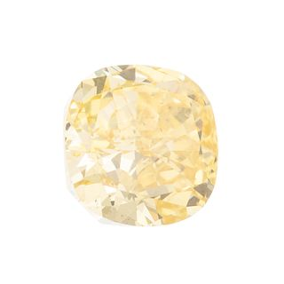 A Loose GIA 2.45 ct Fancy Vivid Yellow Diamond