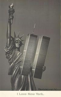 "Robert Rauschenberg ""I Love NY"" Print"