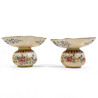 Pr 18th C. Chinese Peking Enamel Vessels