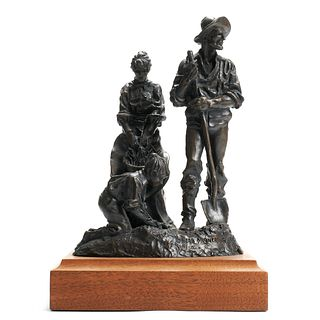 "Herb Mignery ""Heritage"" Cast Bronze Sculpture"