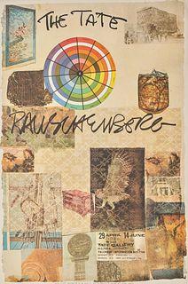 Rauschenberg Tate Gallery 1981 Exhibition Poster